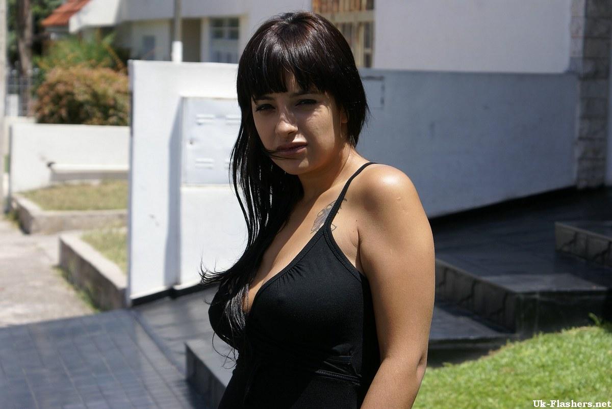 Nudity latina public
